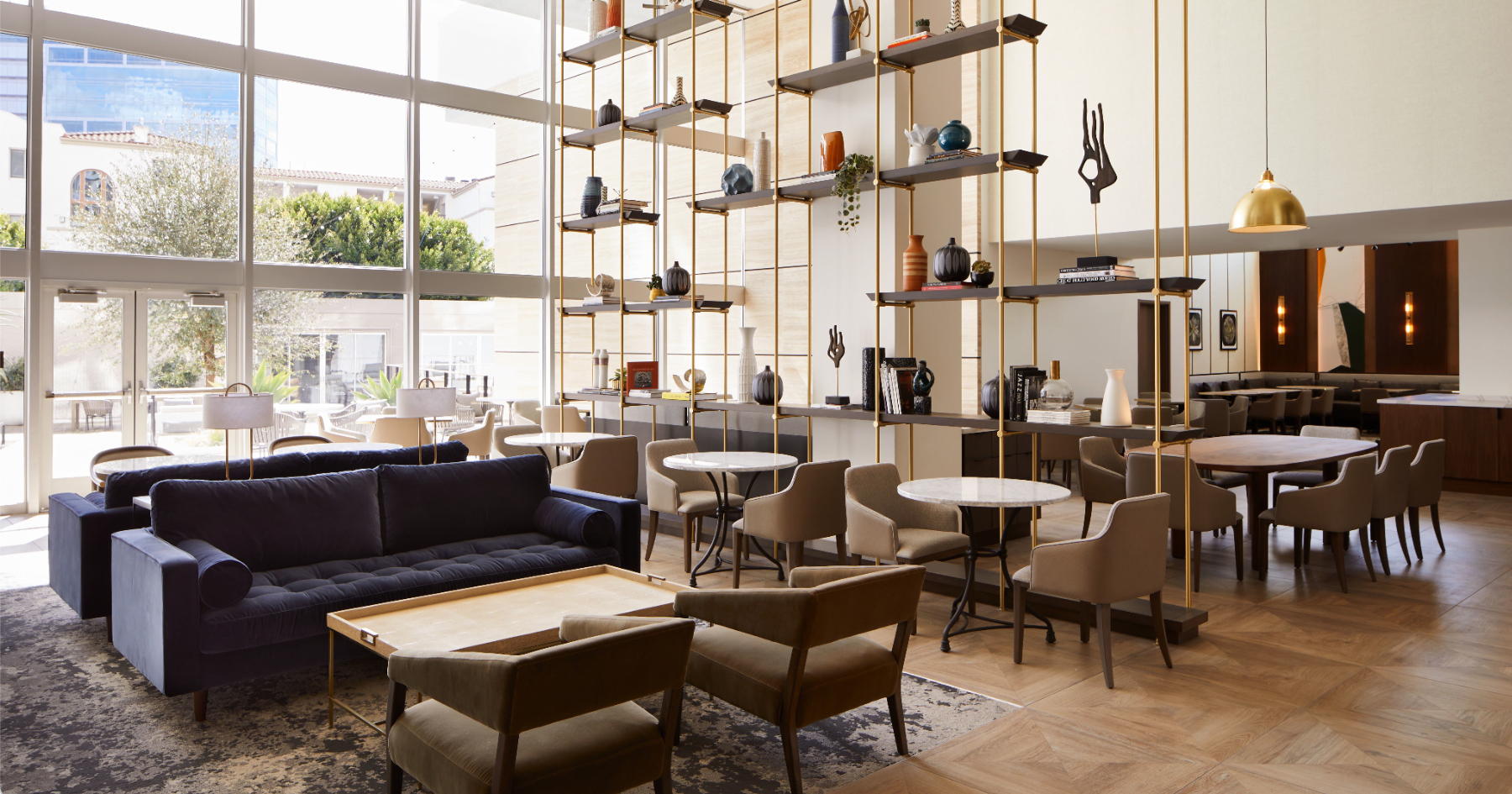 The W Lounge at Westwood Village.