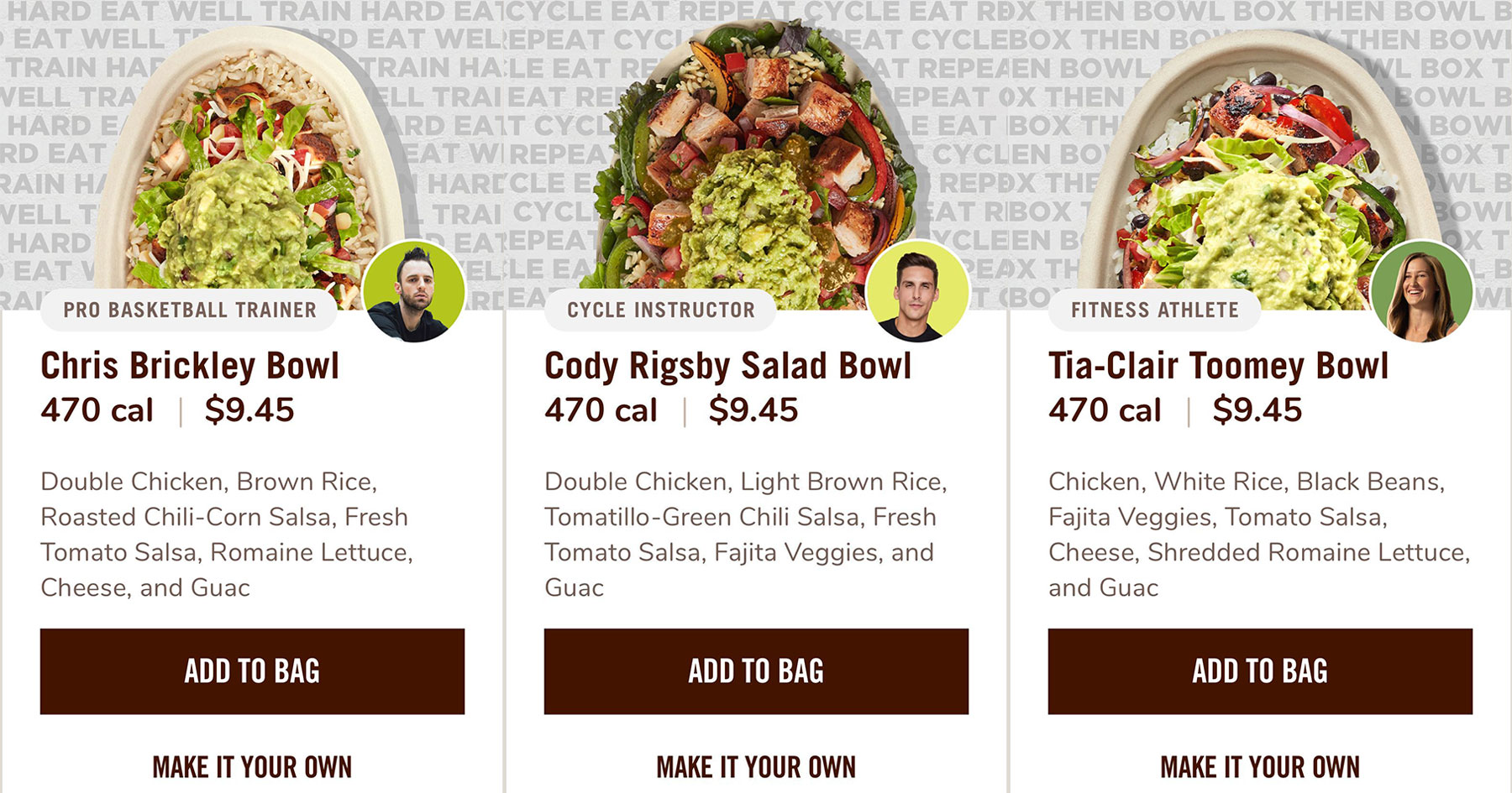 Chipotle Influencers