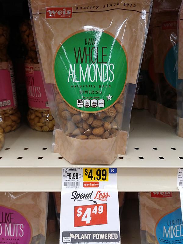 weis almonds
