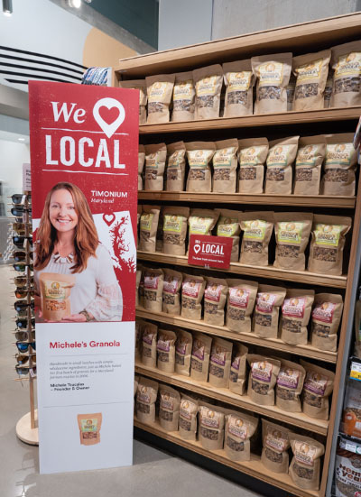 whole foods local display