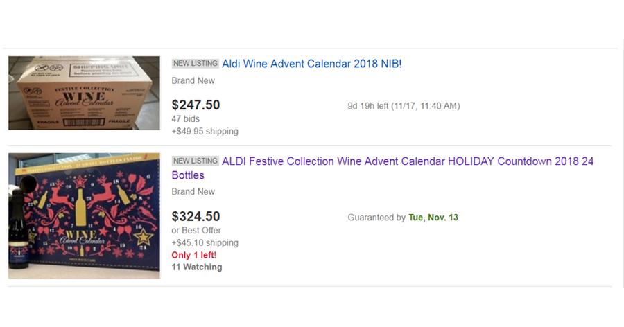 aldi advent ebay