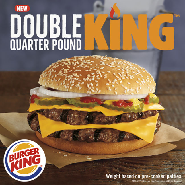 double king quarter pounder