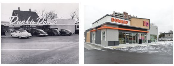 dunkin storefronts