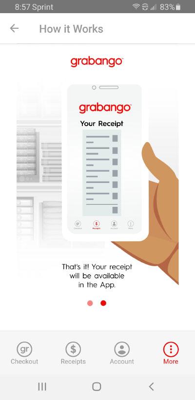 grabango receipt