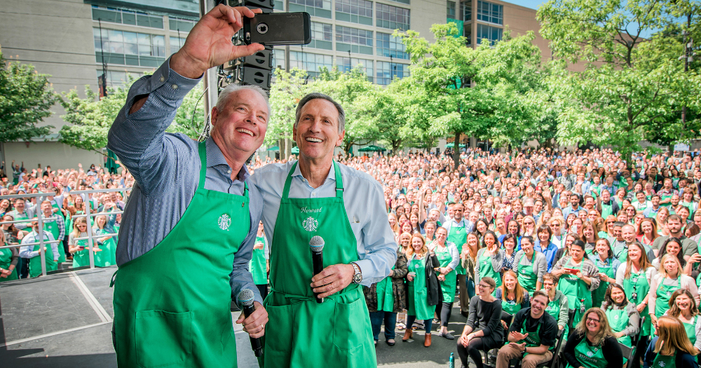 Starbucks Founder Howard Schultz