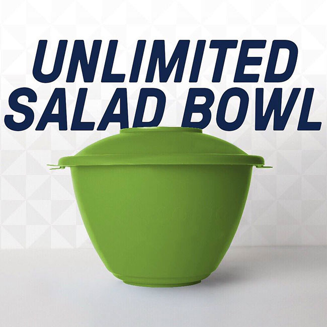 Just salad unlimited bowl