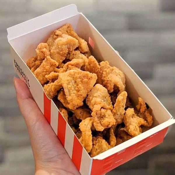 KFC CHICKEN SKIN