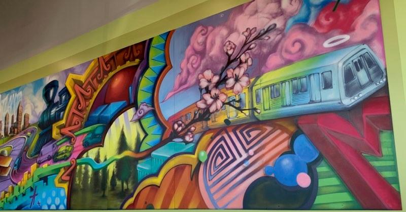 Kroger Atlanta mural