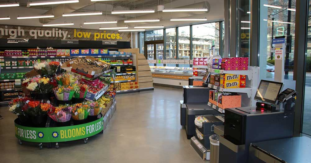Lidl Opens Small Store at HQ