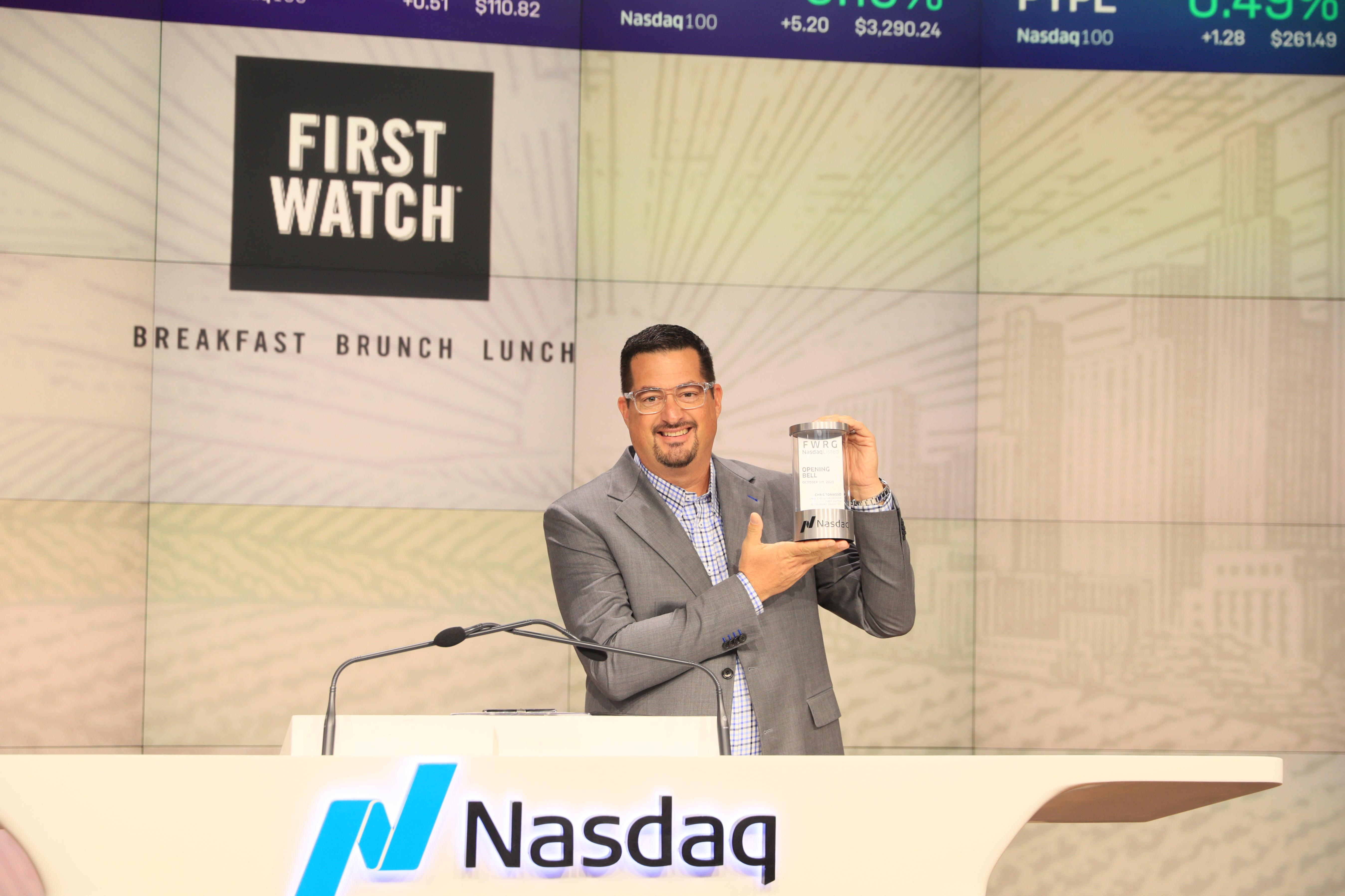 Christ Tomasso at NASDAQ