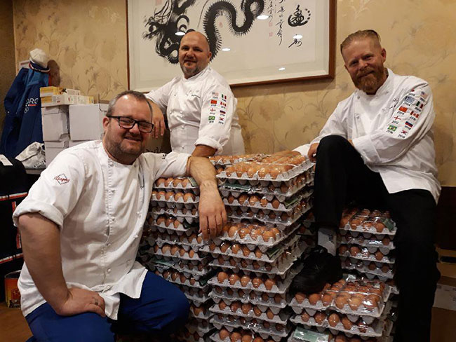 norway eggs olympics