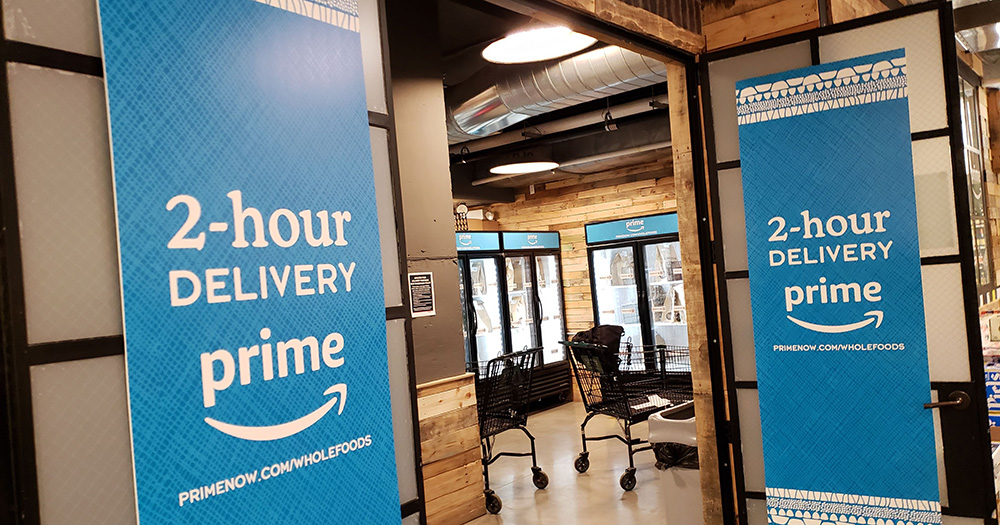 prime delivery sign