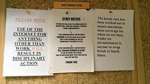 staff notices