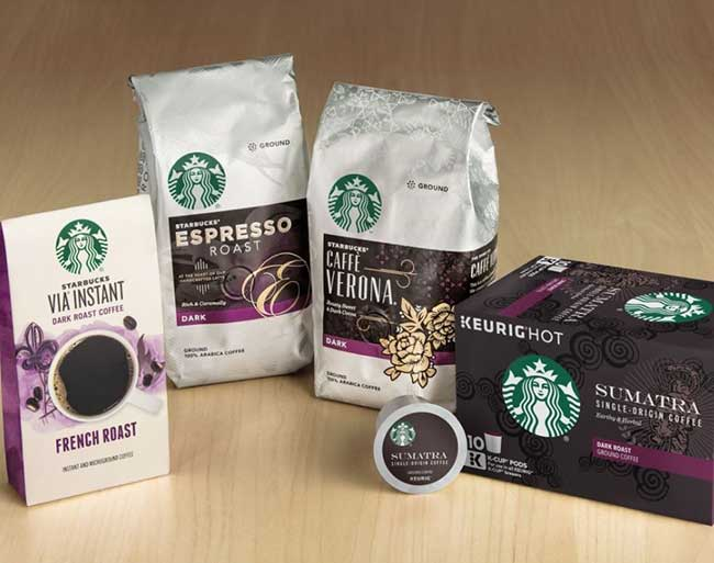 starbucks coffee products