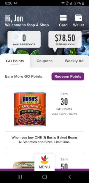 stop shop mobile screenshot