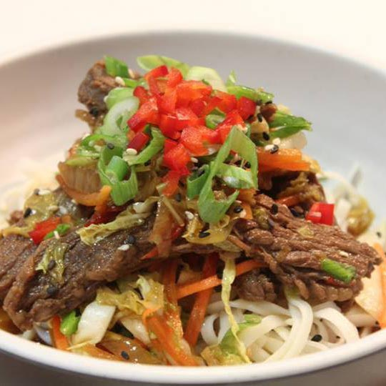 Thai Beef Bowl