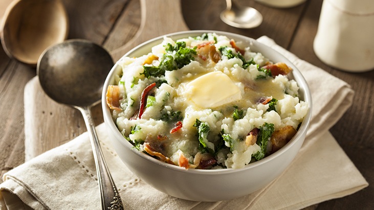 Irish Potato Colcannon St. Patrick's Day food