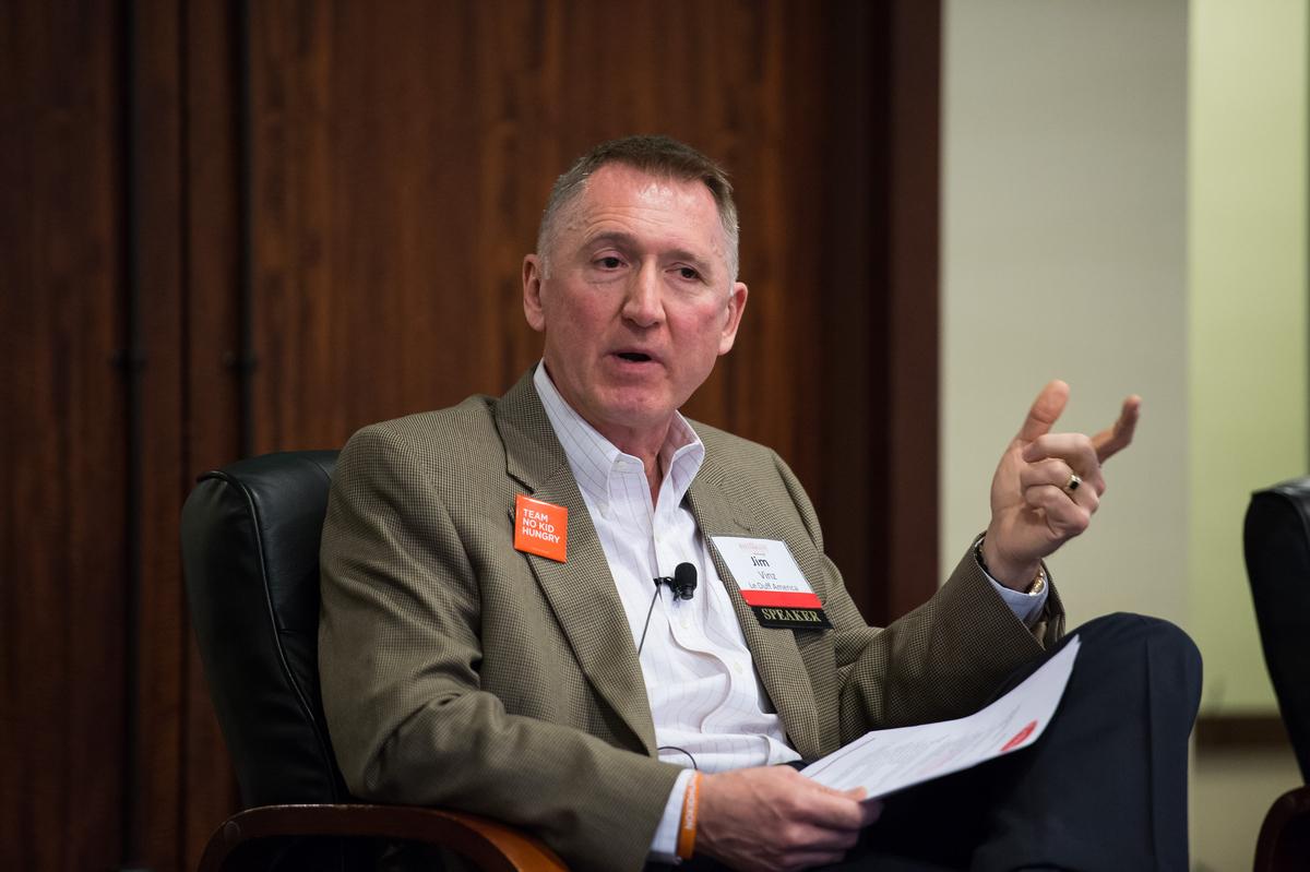 Jim Vinz, CEO of Le Duff American