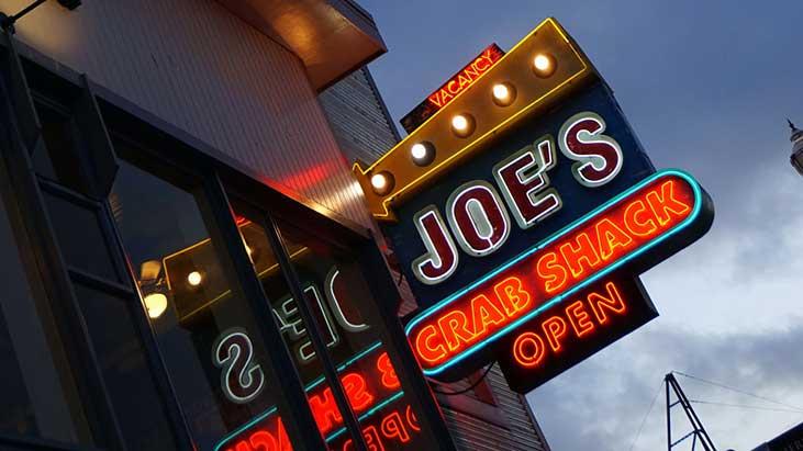 joes crab shack sign