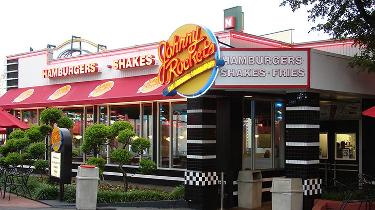 johnny rockets exterior