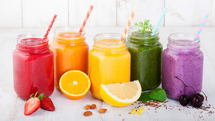 juice fruit drinks