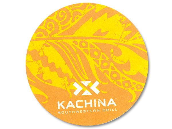 Kachina drink coaster