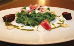 roasted beet kale salad