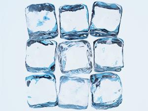ice cubes block