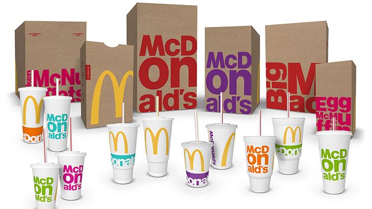 mcdonalds 2016 packaging