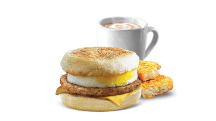 mcdonalds chicken sausage egg