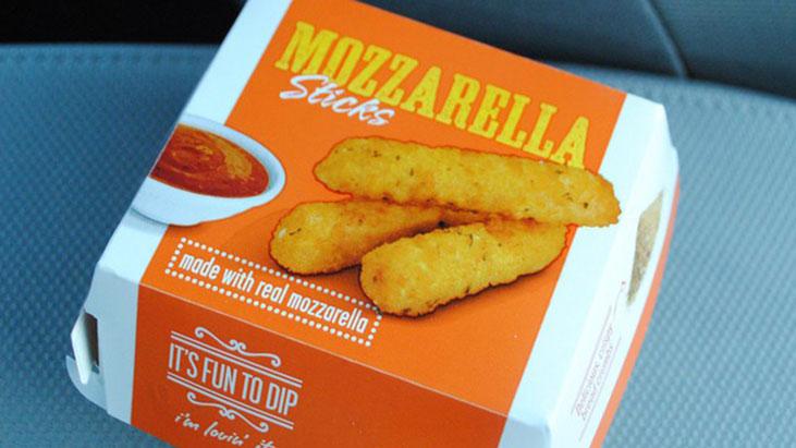 mcdonalds mozzarella sticks