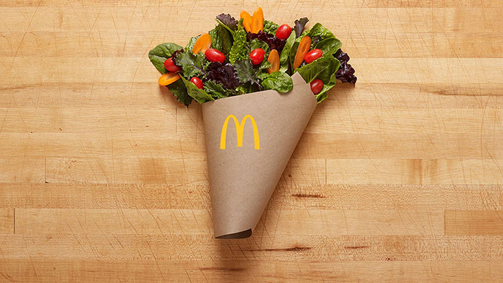 mcdonalds salad blend bouquet