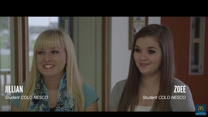 mcdonalds teens video