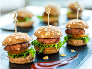 mini sliders small plates shareable