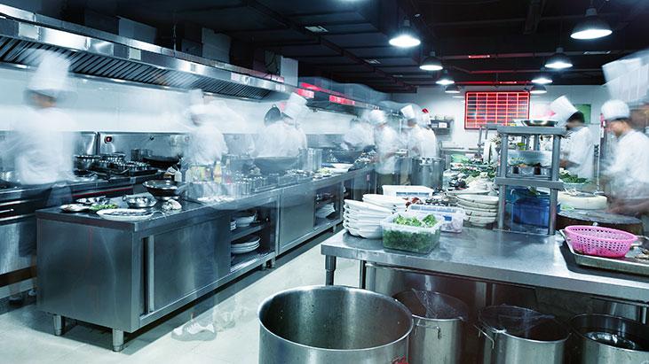 modern kitchen chefs