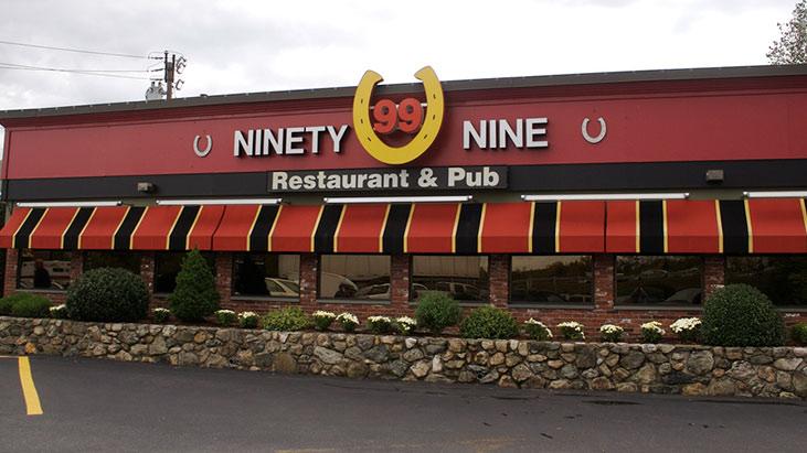 ninety nine restaurant pub exterior
