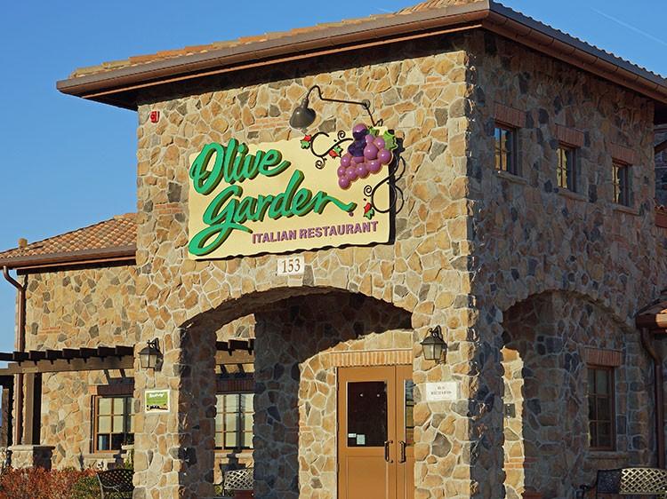 olive garden 2016 - Olive Garden Francise