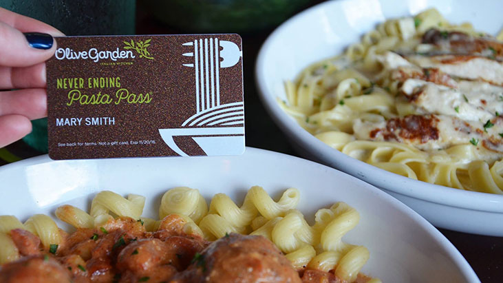 Olive Garden Snags 2 1m In 1 Second Offer