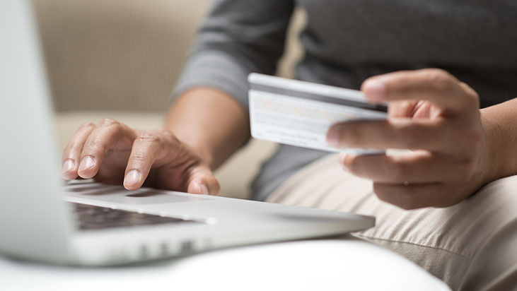 online credit card ordering