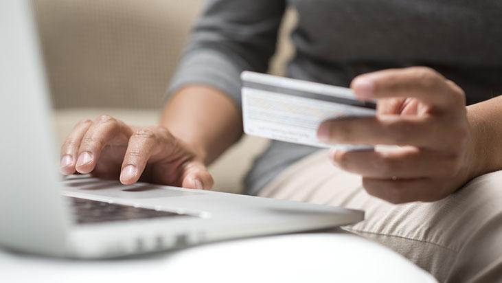 online credit card ordering