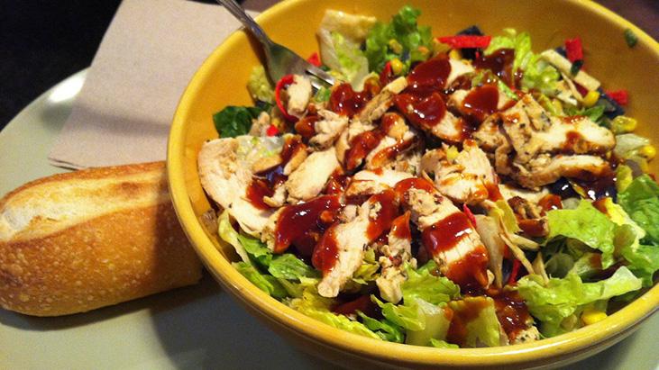 panera bbq chicken salad