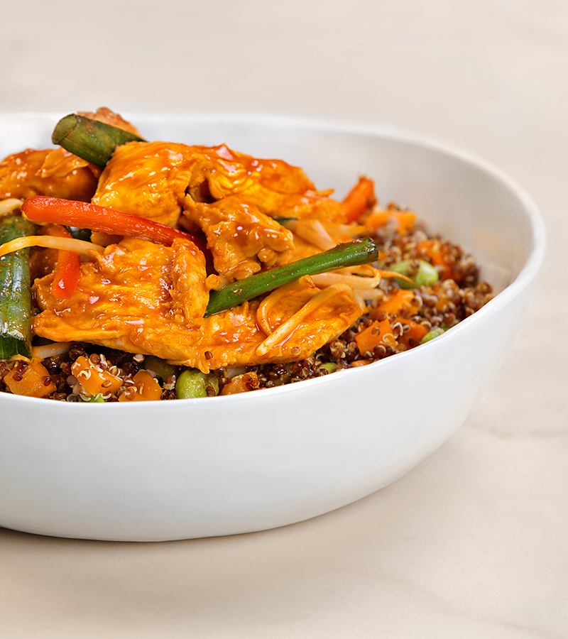 Pei Wei Asian Diner Korean Spicy Quinoa