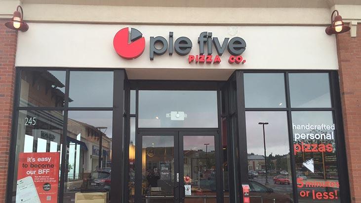 pie five pizza exterior