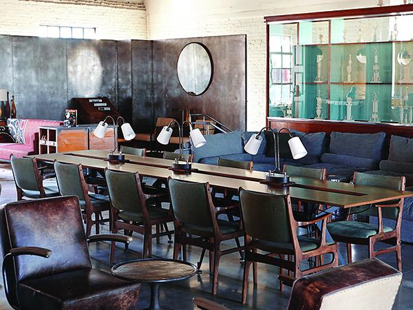 Pinewood Social table