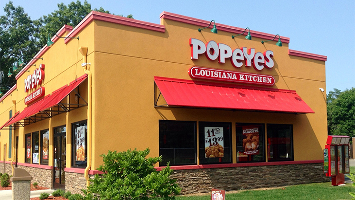 Bk S Parent To Buy Popeyes For 1 8b