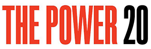 the power 20 logo