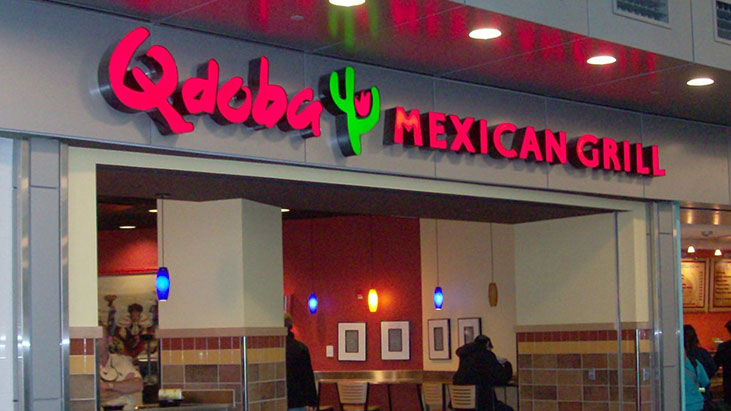 qdoba mexican grill storefront