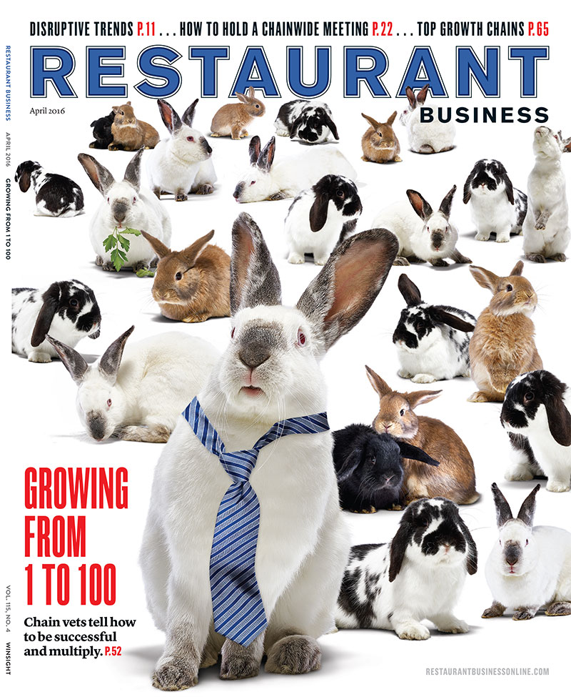 Restaurant Business Magazine April 2016 Issue
