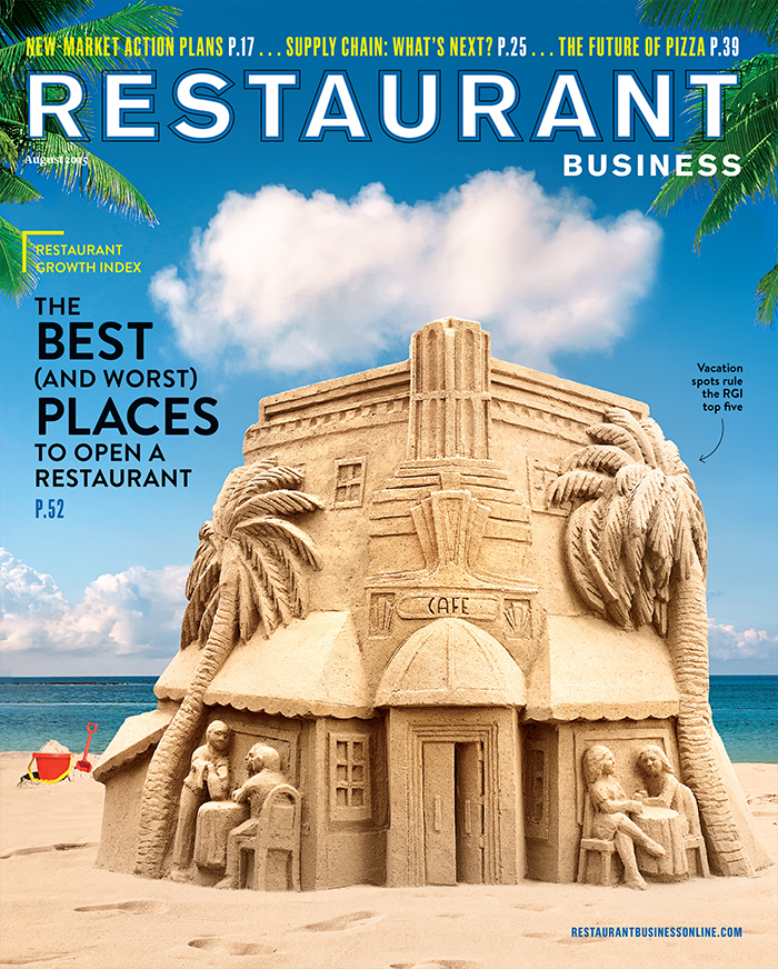 Restaurant Business Magazine August 2015 Issue