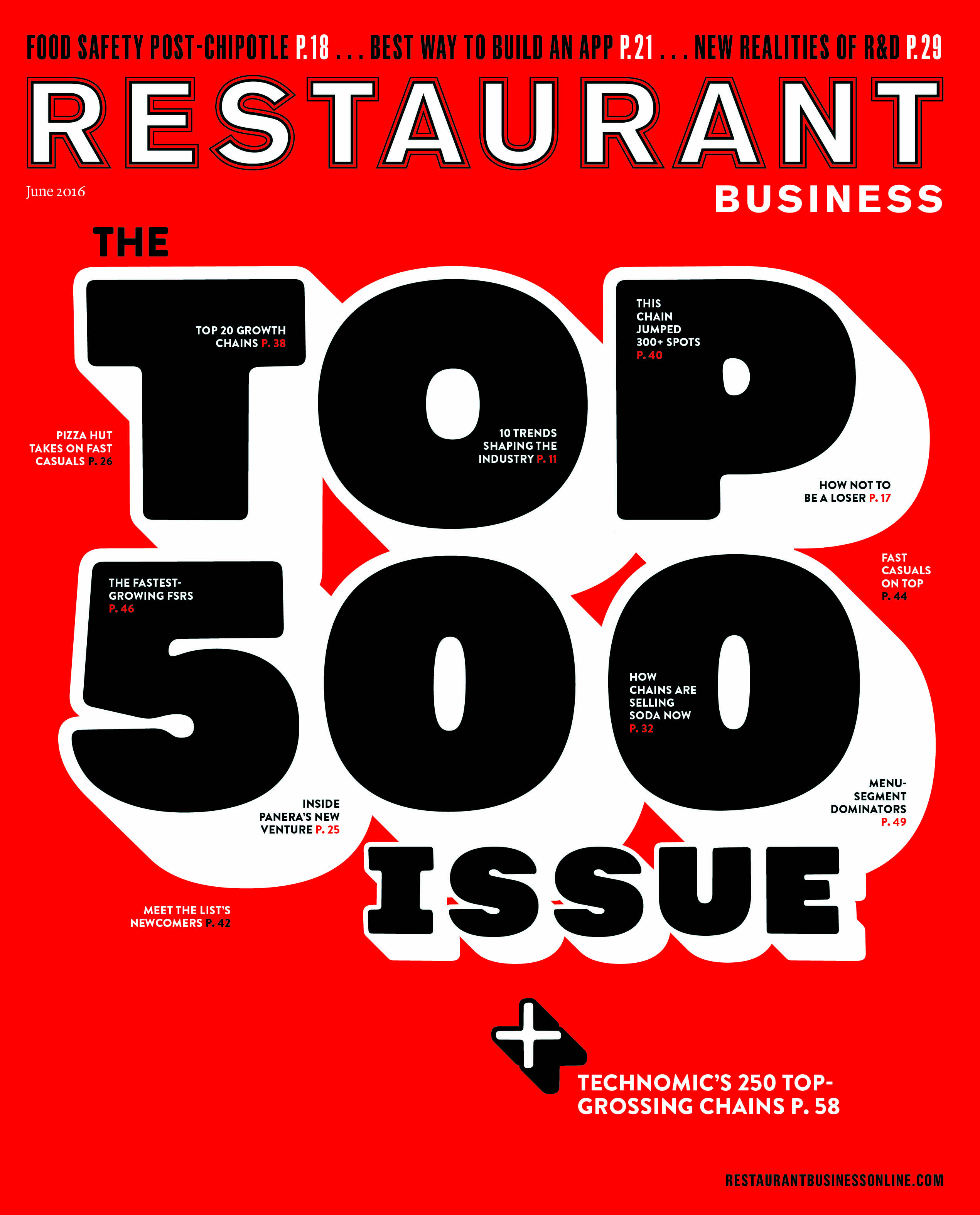 Restaurant Business Magazine June 2016 Issue
